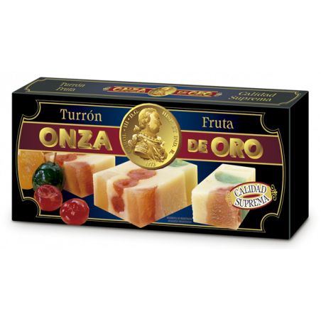 Almond and Glazed Fruit Bar 300 grs