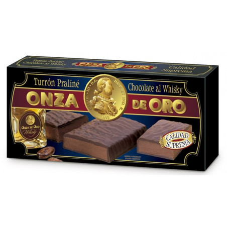 Turrón Praliné Chocolate al Whisky 200 g