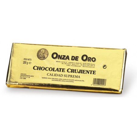Chocolate Crujiente 200 g