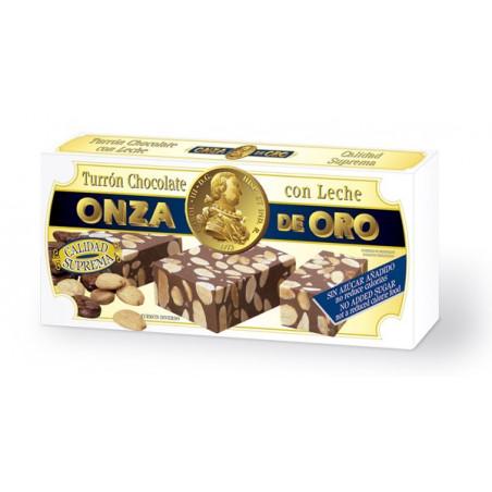 Turrón Chocolate con Leche sin Azucar Añadido 200 g